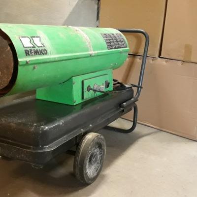 Olejové vykurovacie automaty DZH 30-2 - použité