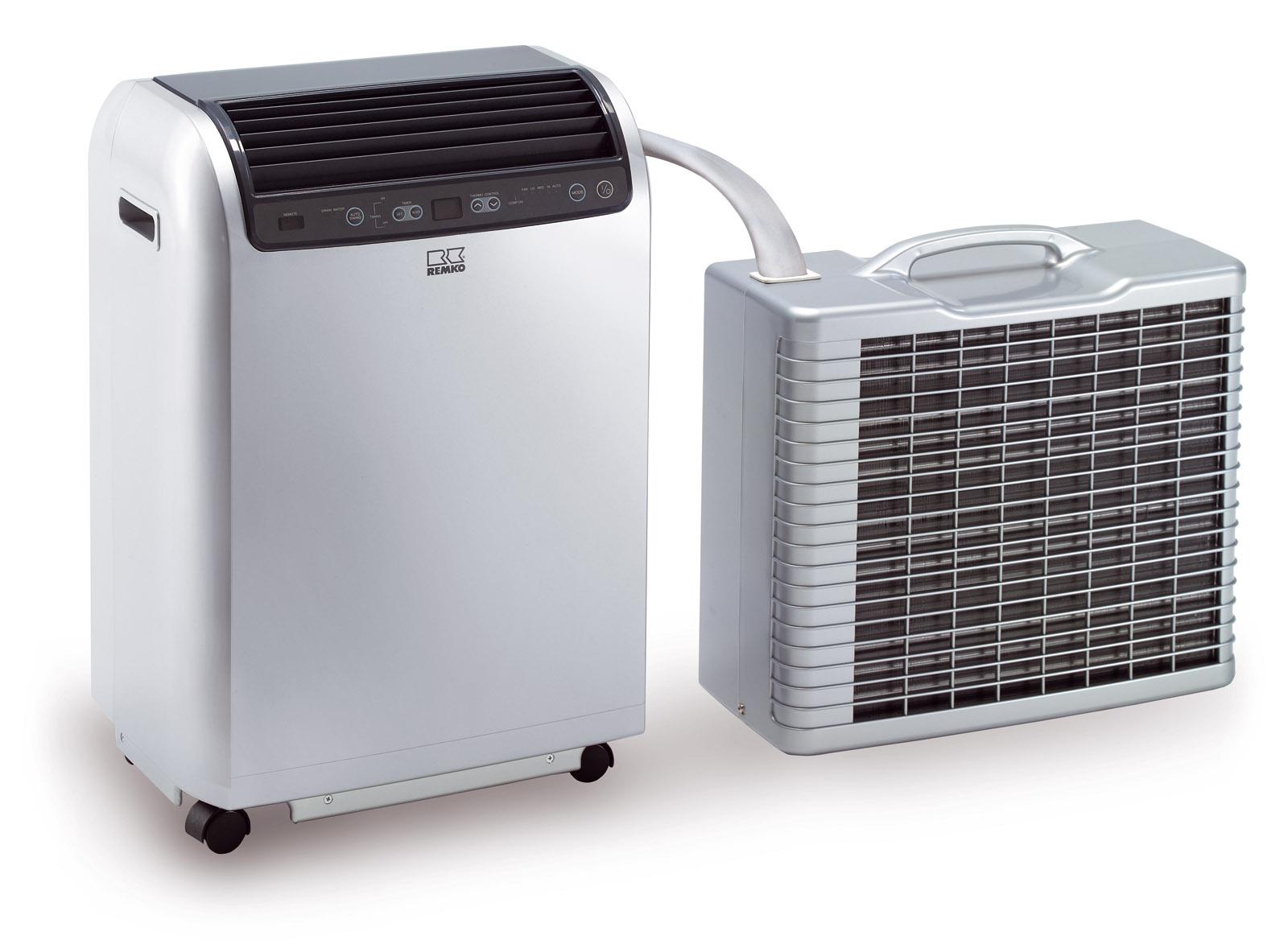 dvoudílné mobilní klimatizace